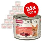 Pachet economic: 24 x 200 g Animonda Carny Kitten