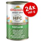 Pachet economic Almo Nature HFC 24 x 140 g
