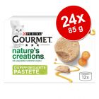 Pachet economic Gourmet Nature's Creations Pate 24 x 85 g