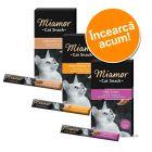 Pachet asortat de probă: 18 x 15 g Miamor Cat Snack Cream