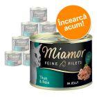 Pachet de testare Miamor Feine Filets Jelly  12 x 185 g