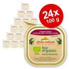 Pachet economic Almo Nature BioOrganic Maintenance 24 x 100 g