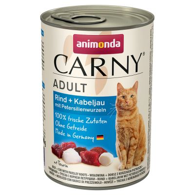 Pachet economic Animonda Carny Adult 12 x 400 g