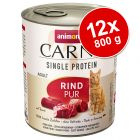 Pachet economic Animonda Carny Single Protein Adult 12 x 800 g