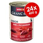 Pachet economic Animonda GranCarno Junior 24 x 400 g