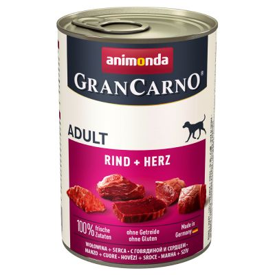 Pachet economic Animonda GranCarno Original Adult 24 x 400 g