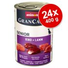 Pachet economic Animonda GranCarno Original Senior 24 x 400 g