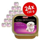 Pachet economic Animonda vom Feinsten Adult Fără Cereale 24 x 150 g