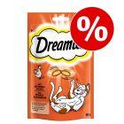 Pachet economic Dreamies Snackuri pisici 4 x 60 g
