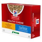 Pachet economic Hill's Science Plan Healthy Cuisine 24 x 80 g