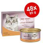 Pachet economic My Star Mousse  Gourmet Conserve 48 x 85 g