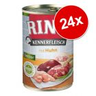 Pachet economic RINTI Kennerfleisch Senior 24 x 400 g / 24 x 800 g