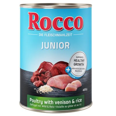 Pachet economic Rocco Junior 24 x 400 g