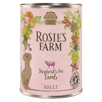 Pachet economic Rosie's Farm Adult 12 x 400 g