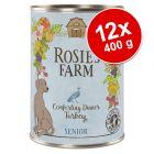 Pachet economic Rosie's Farm Senior 12 x 400 g
