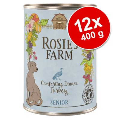 Pachet economic Rosie's Farm Senior 12 x 400 g