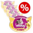 Pachet economic Whiskas Snacks 48 / 66 / 72 g