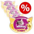 Pachet economic Whiskas Snacks 48 / 66 / 72 g
