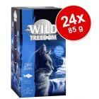 Pachet economic Wild Freedom Adult Tăvițe 24 x 85 g