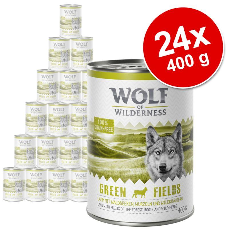 Pachet economic:  Wolf of Wilderness 24 x 800 g