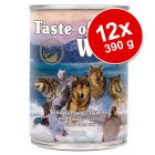 Pachet economic 12 x 390 g Taste of the Wild