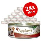 Pack ahorro: Applaws alimento para perros 24 x 156 g