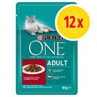 Pack ahorro: Purina ONE 12 x 85 g