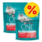 Pack ahorro: Purina ONE Bifensis pienso para gatos