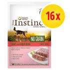 Pack ahorro True Instinct No Grain Paté 16 x 70 g para gatos