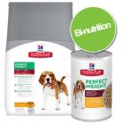 Pack bi-nutrition : croquettes + boîtes Hill's Canine