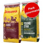 Pack gourmand Josera Junior 2 saveurs