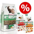 Pack mixto: Cuni Adult Complete pienso + 2x snacks
