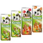 Pack mixto: Versele-Laga Crispy Sticks para herbívoros