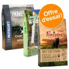 Pack Sans céréales : croquettes Purizon + Nutrivet + Taste of the Wild pour chat