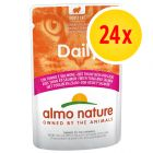 Pack ahorro: Almo Nature Daily Menu 24 x 70 g