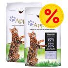 Pack ahorro Applaws 2 x 6 / 7,5 kg pienso para gatos