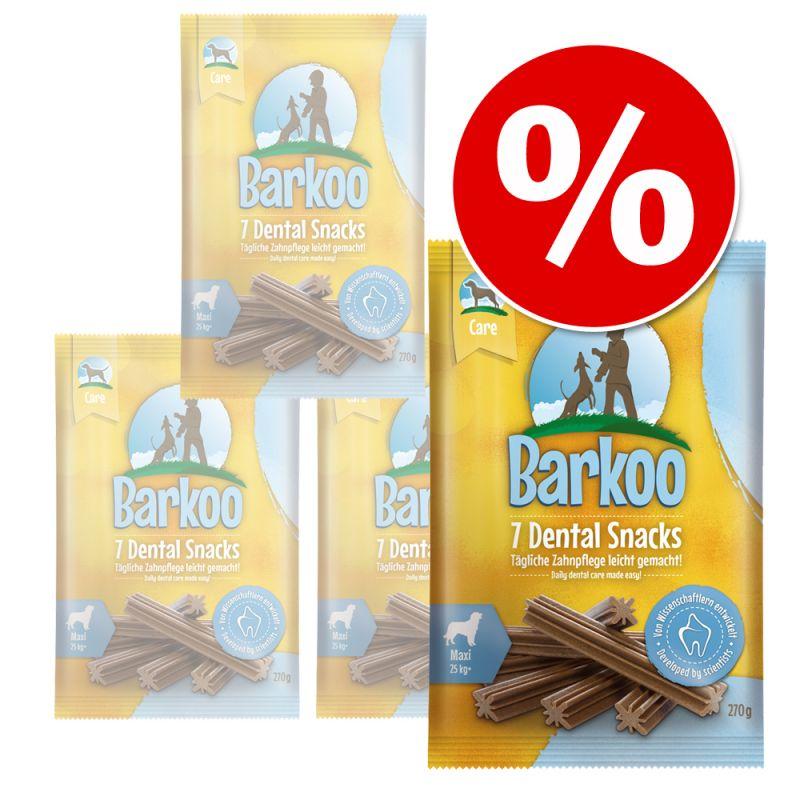 Pack Ahorro: Barkoo Dental snacks para perros