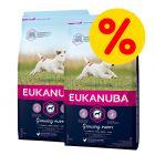 Pack ahorro: Eukanuba pienso para perros 2 x 7,5 a 15 kg