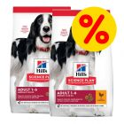 Pack ahorro Hill's Science Plan Canine pienso para perros