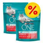 Pack ahorro: Purina ONE Bifensis pienso para gatos