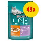 Pack ahorro: Purina ONE 48 x 85 g