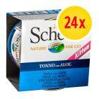 Pack Ahorro: Schesir Kitten 24 x 85 g