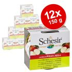 Pack Ahorro: Schesir pollo con fruta en latas 12 x 150 g