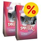 Pack ahorro: Smilla pienso para gatos 2 x 10 kg