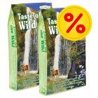 Pack ahorro Taste of the Wild Feline 2 x 6.6 kg