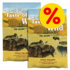 Pack ahorro: Taste of the Wild  2 x 5,6 / 12,2 kg