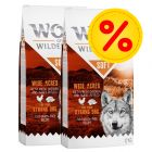 Pack ahorro Wolf of Wilderness Soft & Strong 2 x 12 kg