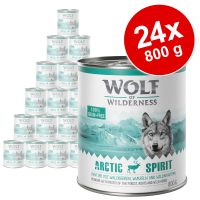 Pack Ahorro: Wolf of Wilderness 24 x 800 g
