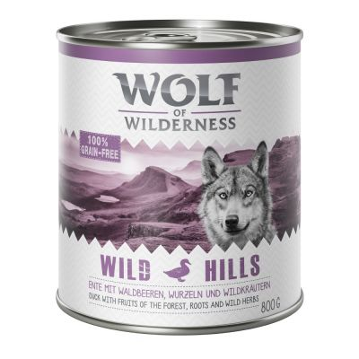 Pack Ahorro: Wolf of Wilderness 12 x 800 g