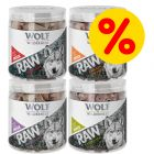 Pack Ahorro 4 x Wolf of Wilderness RAW snacks liofilizados premium